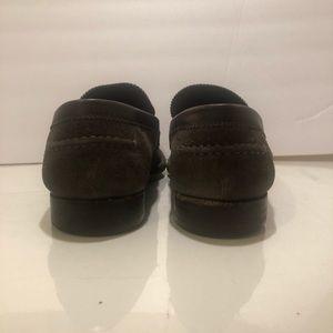 Louis Vuitton Shoes - Louise Vuitton Suede Mens Major Loafer Shoes